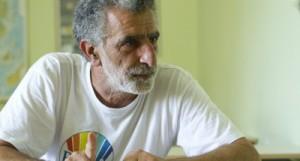 Un primo piano del Sindaco di Messina Renato Accorinti