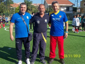 da sinistra gli istruttori Silvio De Salvo (Acr Messina), Sandro De Domenico (Riviera Messina Nord) e fabio Zoccoli (Efraim)