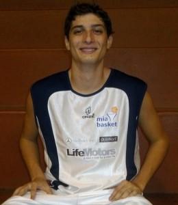 Un primo piano di Vincenzo Marabello (Mia Basket)
