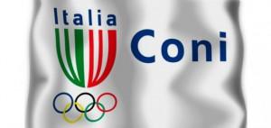 Il logo del Coni