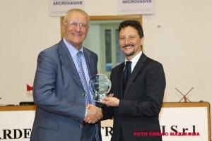 Il Presidente Antonio Rescifina ai Premi Donia 2013
