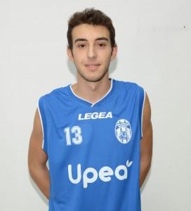 Gianluca Ettaro (Nuova Agatirno), ha realizzato 8 punti