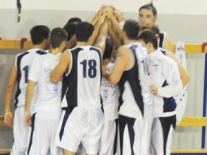 La grinta dei giocatori dell'FP Sport Messina