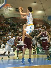 Marco Portannese in azione contro Ferentino
