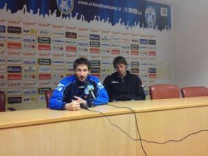 Conferenza della vigilia con il Poz e Sandro Nicevic