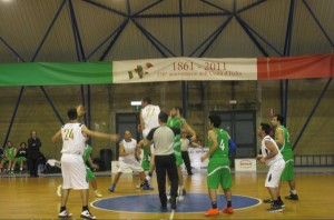 La palla a due del San Gabriele Messina