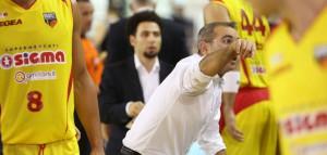 """Ugo Ducarello, alla prima uscita da """"head coach"""" della Sigma Barcellona"""