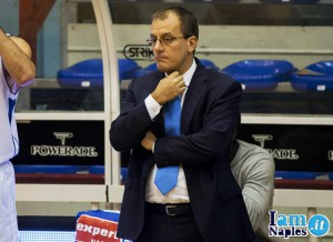 Demis CAvina (allenatore Expert Napoli)