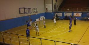 L'under 19 della Mia Basket in azione