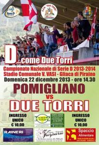 Locandina Due Torri-Pomigliano