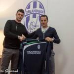 Il direttore sportivo Marco Cirillo con Gennaro Marasco