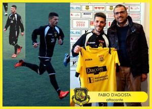 Fabio D'Agosta, nuovo acquisto in casa Tiger Brolo con il presidente Tripi