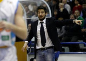 Coach Gianmarco Pozzecco