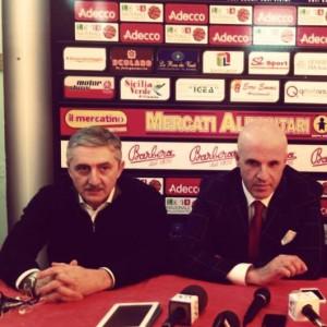 Marco Calvani insieme al presidente Immacolato Bonina