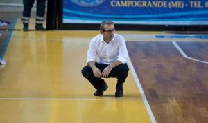 Il tecnico della Sigma Barcellona Ugo Ducarello