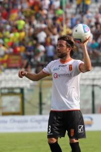 L'ex Benevento batte una rimessa laterale