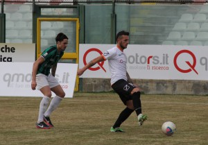 Il centrocampista Domenico Franco (foto Paolo Furrer)