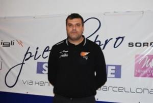 Un primo piano dell'allenatore Luigi Maganza