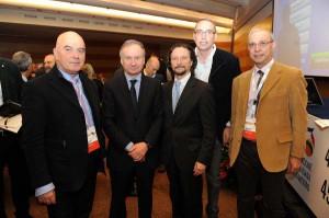 Il Presidnete del Comitato Regionale Antonio Rescifina insieme al presidente della FIP Gianni Petrucci