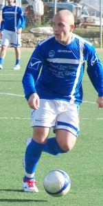Il centrocampista del Ghibellina Ciccio Monaco (scatto di R.S.)
