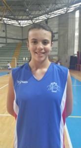 Un primo piano dell'atleta del 2000 Giorgia Melita (Alma Patti)