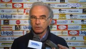 Il presidente del Città di Messina, Elio Conti Nibali