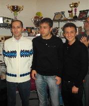 Giuseppe Panarello, Pietro Pisacane ed Andrea Favaloro