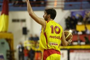 Nicola Natali, tre triple per l'ex Forlì