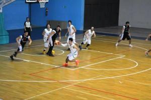 il San Gabriele recupera palla in difesa