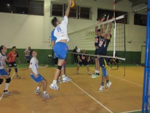 Una fase del match tra Jonia Riposto ed Ottica Sottile (foto Maddalena Galeano)