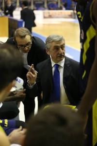 Il tecnico Marco Calavni e l'assistente Ugo Ducarello