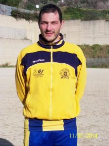 Il difensore del Riviera Andrea Caristi 8scatto di R.S.)