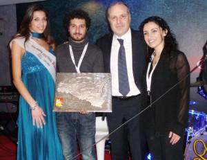 Da sinistra Cristina di Siero, Giuseppe Contarini, Vincenzo Russolillo e Ketty Ragno