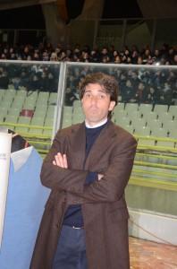 Il tecnico del Messina Gianluca Grassadonia (foto Bruno Cuteri – Paolo Furrer)