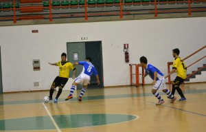 Fase di gioco Futsal Peloro