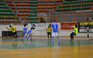Fase di gioco Futsal Peloro2