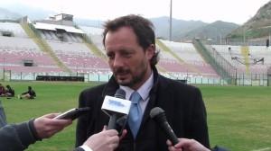 Il direttore sportivo del Messina Fabrizio Ferrigno ai nostri microfoni
