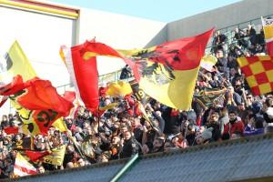 I tifosi del Messina nella Curva Sud del San Filippo: accadrà anche domenica?