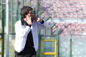 Il tecnico del Messina Gianluca Grassadonia (foto Luca Maricchiolo)