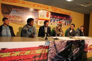 Un momento della conferenza stampa (foto Paolo Furrer)