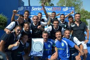 Il Villafranca Beach Soccer promosso in A