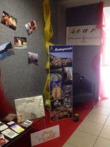 Il pannello fotografico di Montagnareale, a casa Sanremo