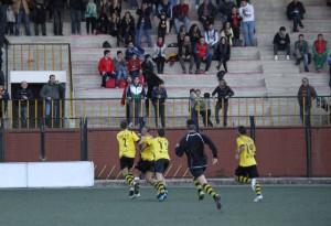 L'esultanza di Elamraoui dopo il gol