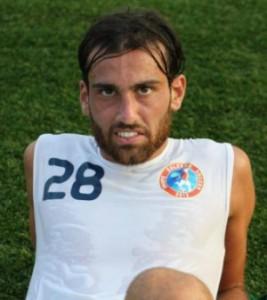 Luca Orlando, attaccante dell'Aversa Normanna