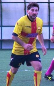 Fausto Nibali in azione, durante il match esterno col Pistunina del 22 febbraio scorso (scatto di R.S.)