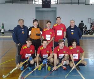 La formazione della Polisportiva Universitaria Messina