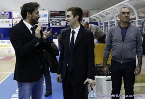 Pozzecco con Giuseppe ed Enzo Sindoni