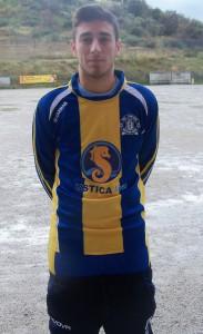 Il centrocampista del Riviera Raffaele Manciagli 8scatto di R.S.)