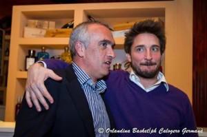 Enzo Sindoni e Gianmarco Pozzecco
