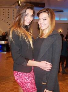 Due miss in veste di giurate: le sorelle Francesca e Cristina Di Siero (scatto di R.S.)